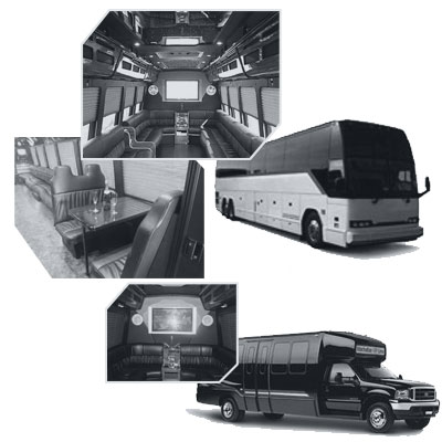 Party Bus rental and Limobus rental in Chicago, IL