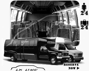 Bus for airport transfers in Chicago, IL