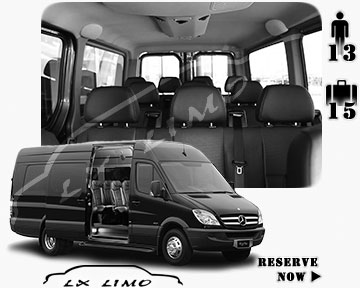 Sprinter Van for rent| Sprinter Van for Hire in Chicago