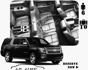 SUV Suburban for hire in Chicago