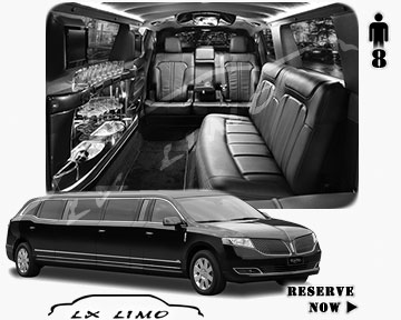 Stretch Wedding Limo for hire in Chicago, ON, Canada